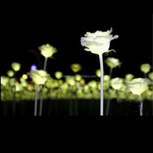 Fabric + Plastic Flowers Led Light Rose Flowers For Home/Wedding Decoration
