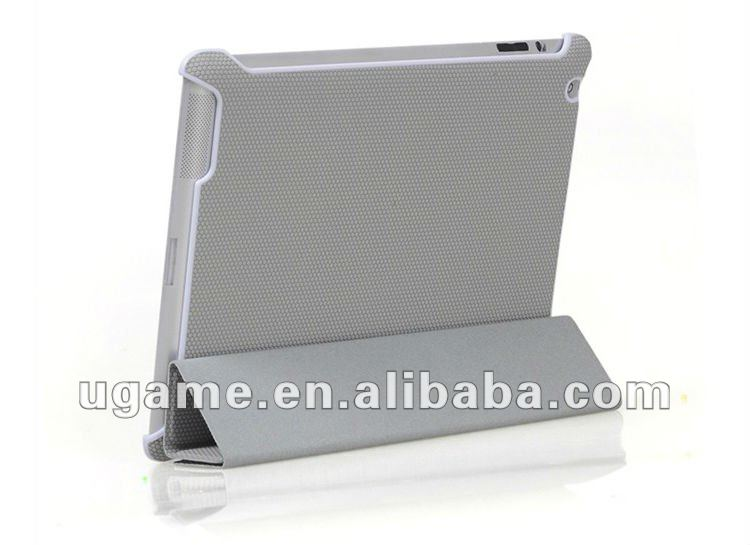 Baketball surface Leather Stand stylus holder case for ipad3,for ipad 2