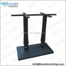 Garden table base, coffee table bases, cast iron bar table base