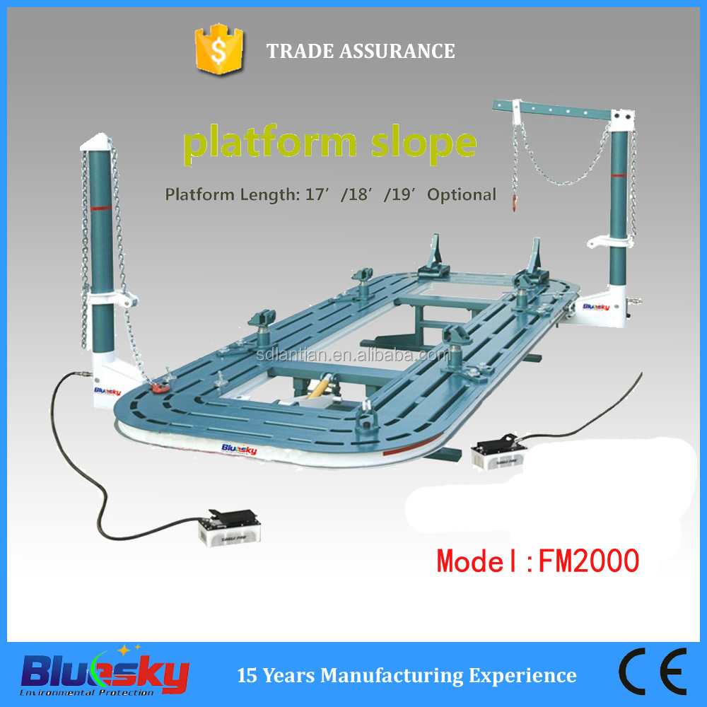FM2000 good selection car pulling tool/frame machine/automotive body repair products