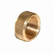 Precision CNC Machining Parts, Brass Nuts Copper Parts E-coating Finish