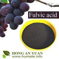 High Water Solublity Potassium Humate Fulvic Acid in Organic Fertilizer