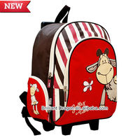 latest multifunctional large capacity trolley backpack