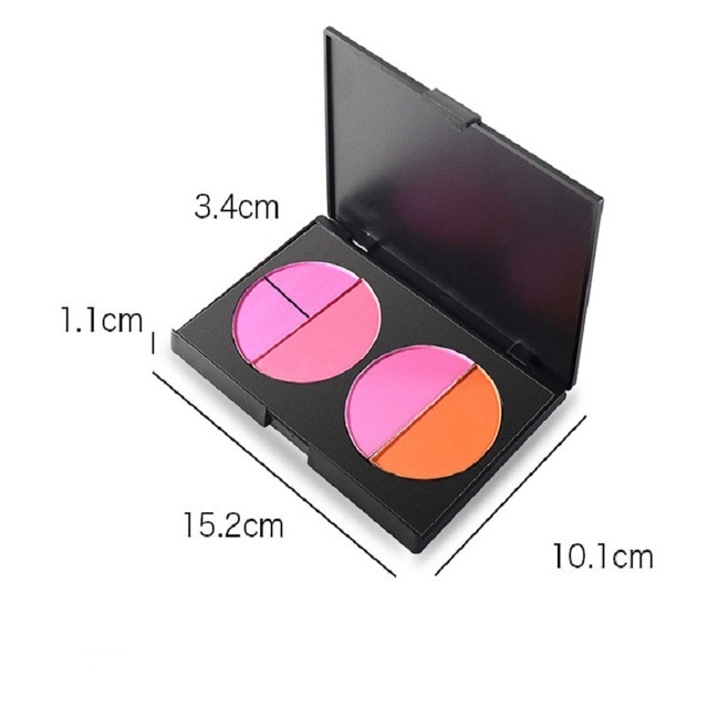 Makeup Best Seller Perfect Cosmetics Glitter Baked Blusher for Facial Blush