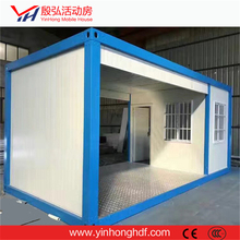 20' full-side door container, prefab house container house luxury