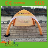 Cheap outdoor custom made printing portable advertising inflatable tent