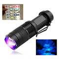 395NM Black Light LED UV Flashlight Ultra Violet Light UV Torch