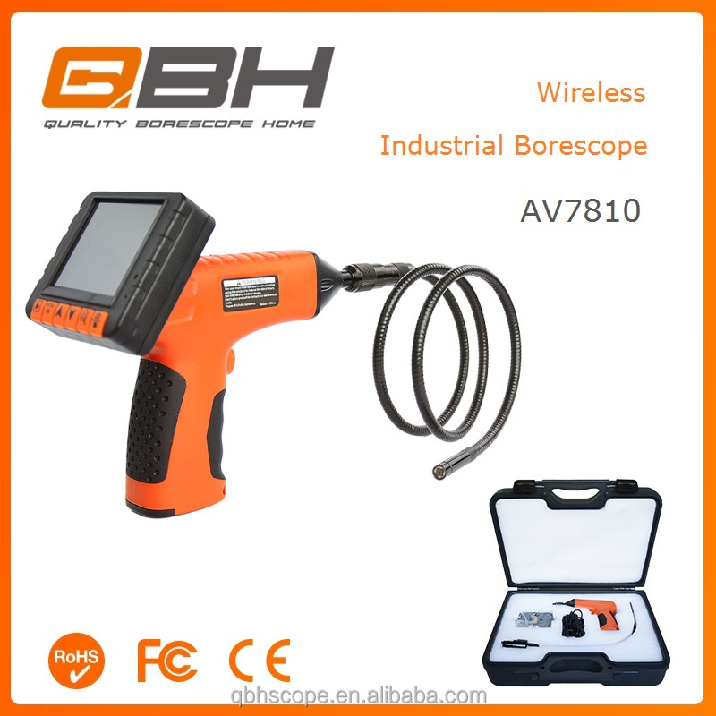 Industrial Furnace Tubes Problem Inspection Camera