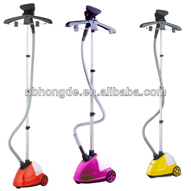 601A Single Power Button Easy Operating Professional Colorful Vertical Home Appliance 2013 tobi garment steamer