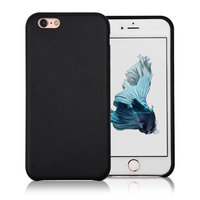 C&T Ultra Slim Luxury Back PU Black Leather Case Cover for iPhone 6/6s