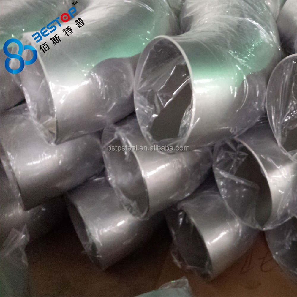 Seamless or Welded type stainless steel pipe fittings any third parties inspection