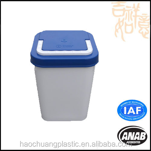 China OEM Home appliance plastic waste basket injection mould