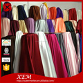 Factory shocking price classic silk stretch 148GSM heavy satin fabric
