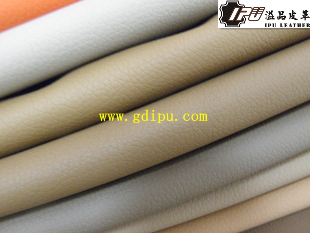Hot selling artificial leather 100 pu synthetic leather textiles leather product