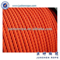 Certified 10mm pp marine rope for marine supplies