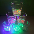 Factory supplies colorful led blinking plastic cup