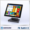Geesung 17 Inch Capacitive Touch Screen Retail Pos System All In One Computer