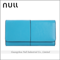 Guangzhou brand name factory direct sale export product napa genuine cell phone case handmade leather wallet