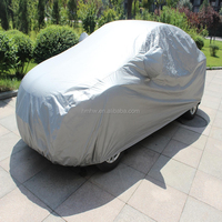hail protect half car cover waterproof uv protection outdoor canvas waterproof car cover
