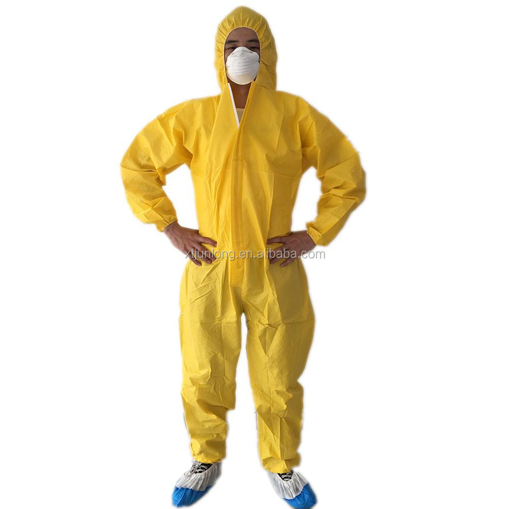 SF Protective Clothing Disposable Coverall
