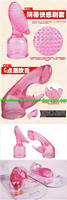 2013 New stylish CE Standard Phthalates free Vibration & Rotation Artificial Penis Sex Toy for Woman