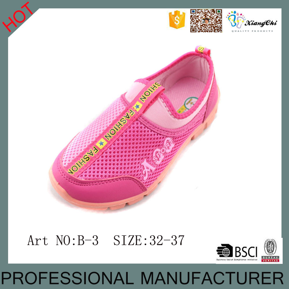 Factory OEM Sneaker Shoes Kids Casual Shoes With Mesh Upper