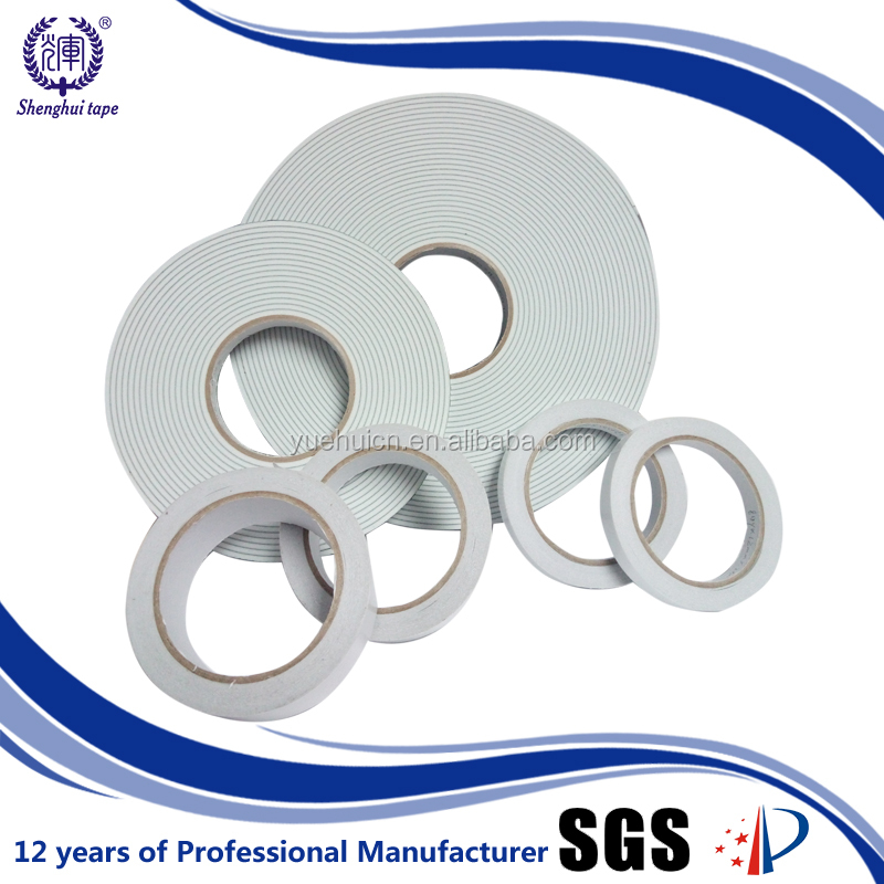 China hot sale 70mic glassine paper waterproof double sided tape