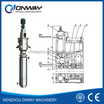 Tfe agitated thin film evaporator for used motor oil for Used motor oil recycling process