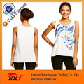 New style woven knit printed thailand tank top for women