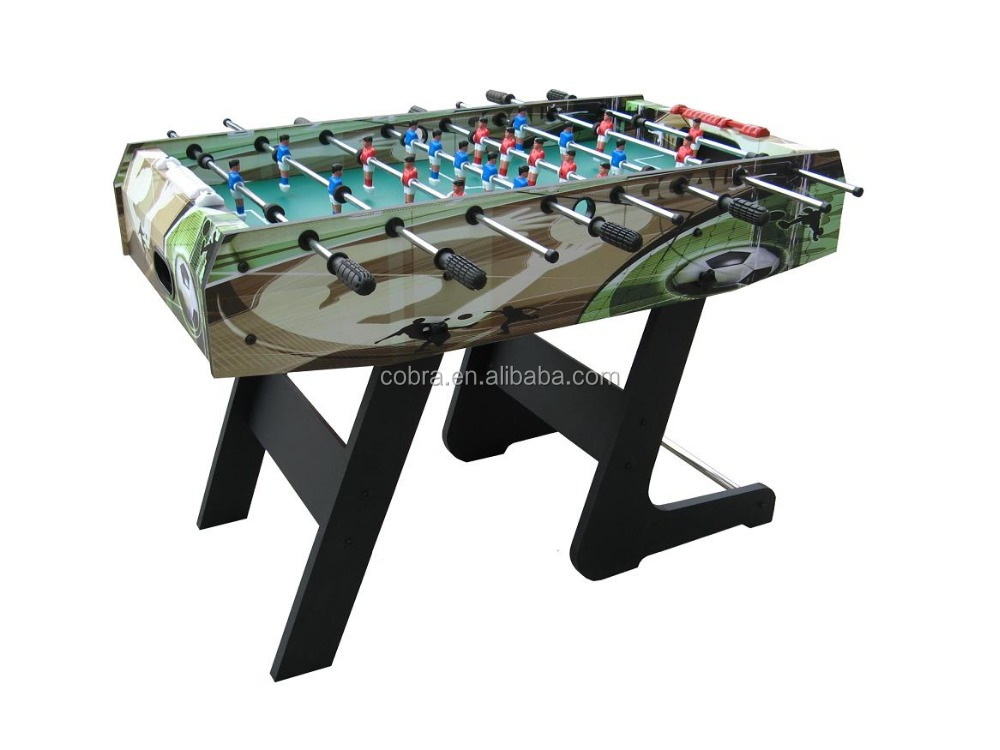 "48"" MDF Standing Football Table with graphic painting"