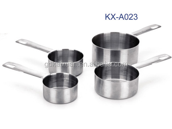 4PCS Stainless Steel Measuring Cup