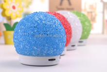 NEW Christmas Gift Bluetooth Speaker with LED Light Smart LED Bluetooth Speaker