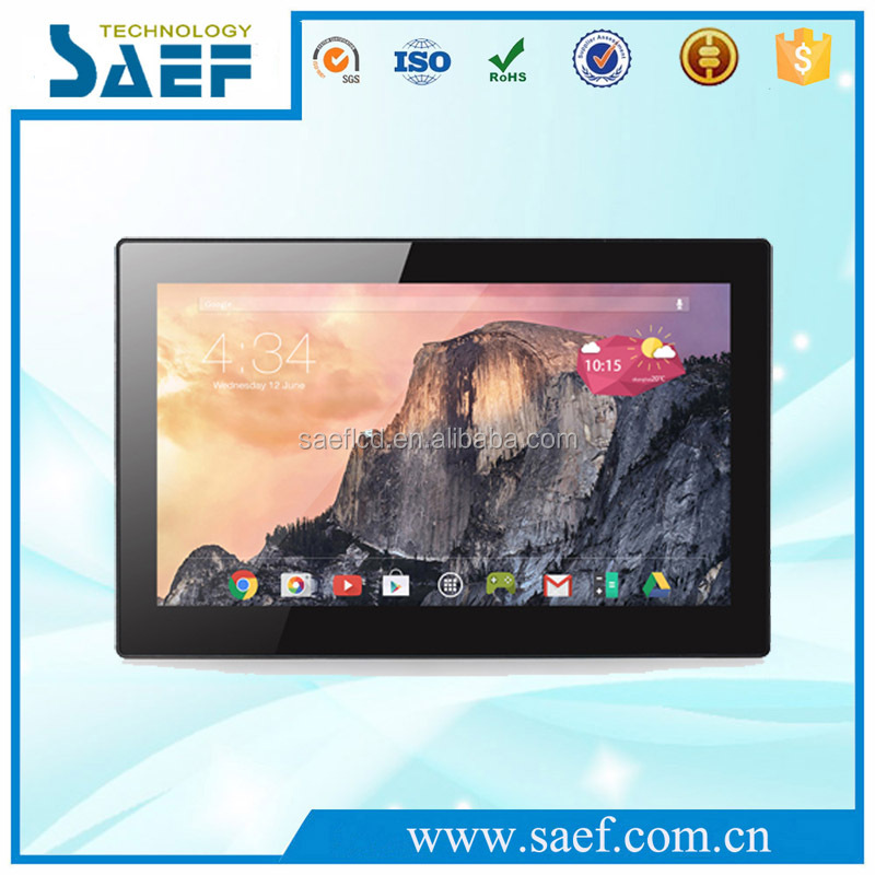 CE RoHS 13.3 inch IPS android tablet quad core RJ45 tablet