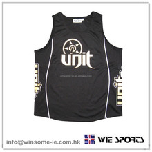 Promotional customized outdoor mens 100% polyester moisture wicking performance fashion tank