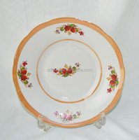 bulk white ceramic hotel dinner plates cheap plain white ceramic plate