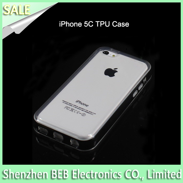 Best selling tpu bumper case for iphone5c