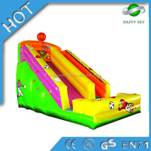 Best selling!!!!spongebob inflatable water slide,fire truck inflatable slide,inflatable dragon slide