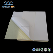 Glossy Self Adhesive Mirror Cast Coated Sticker Paper for Printing in Sheet