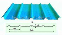 corrugated roofing steel sheet /color coated steel roofing sheets