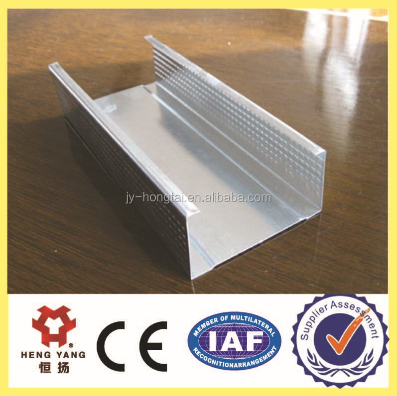 galvanized steel light steel frame for drywall structure profile