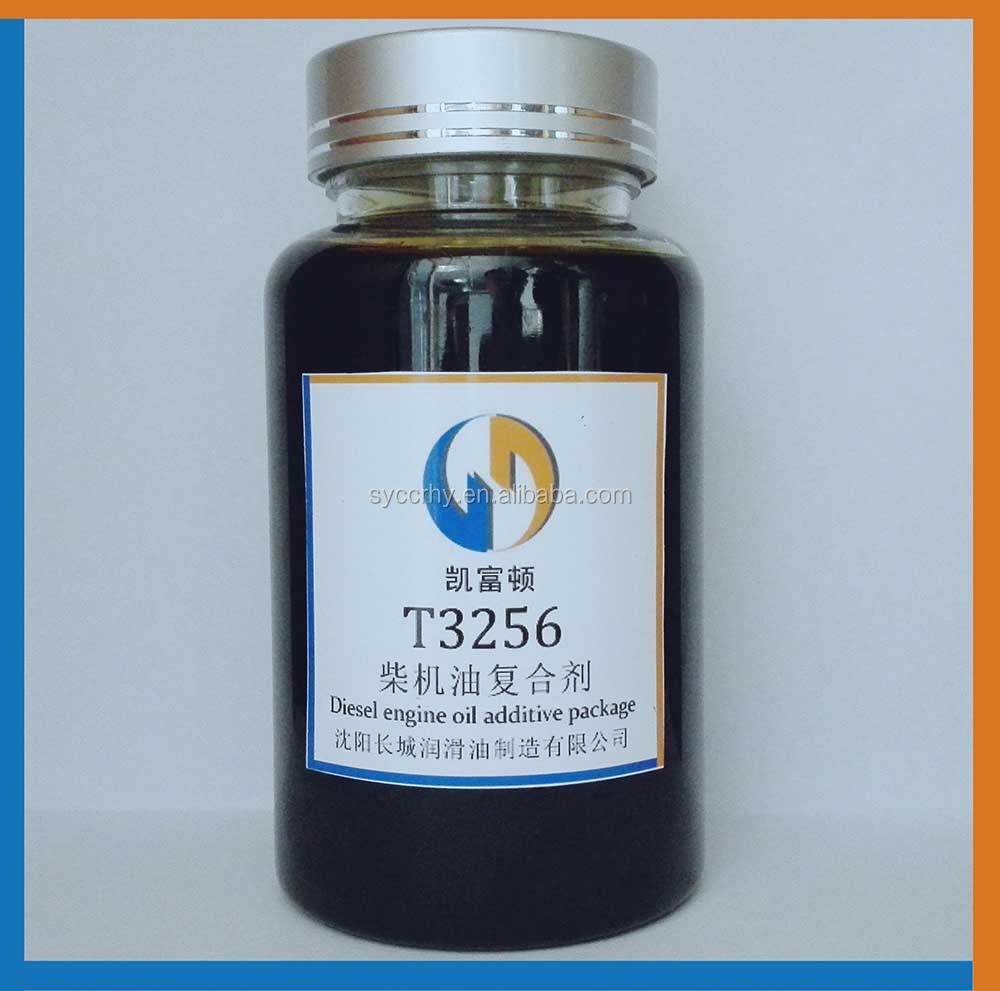 T3256 high quality CI-4/SL gasoline and diesel multi-grade engine oil additive package