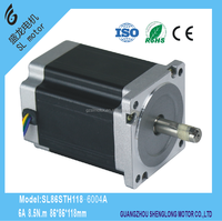 Nema34 stepper motor with high torque ,CE and ROHS.SL86STH118-6004A
