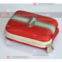 Eva Compact Camera Red Case Bags for Digital Camera and accessories