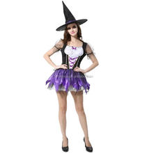 Carnival Cosplay Costumes Adult Women Sexy Female Lucky Witch Party Fancy Dress