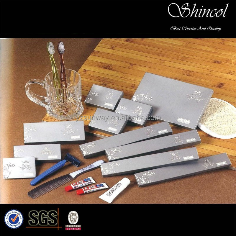 supply good quality and price 5 star hotel amenities set