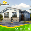 Eco Friendly Steel Frame Prefabricated Villa Architectural Design