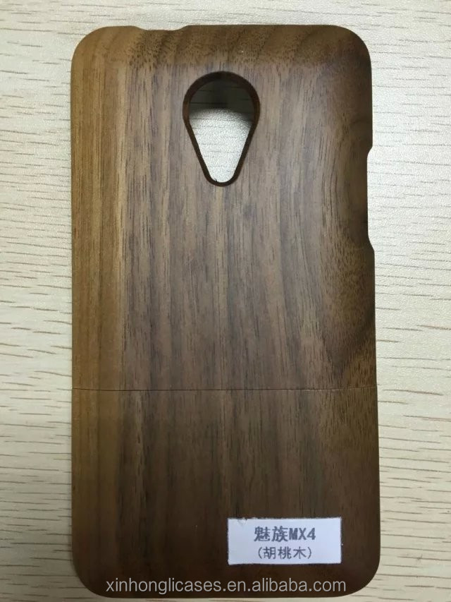 Wholesale Nature Wooden Cover Case For Meizu MX4