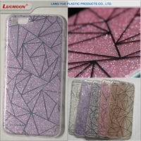 IDM glitter plating tpu tpu phone case for iphone 5s 5c