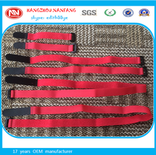 wholesale used fashionable nylon plastic buckle hook and loop strap tape