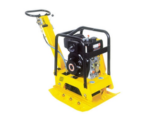 STP-160 mini plate compactor robin engine for sidewalks drains